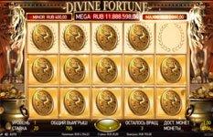 Слот с джекпотом Divine Fortune