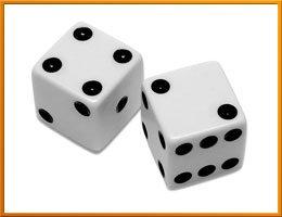 Игрок полагается на удачу, а не на здравый смысл